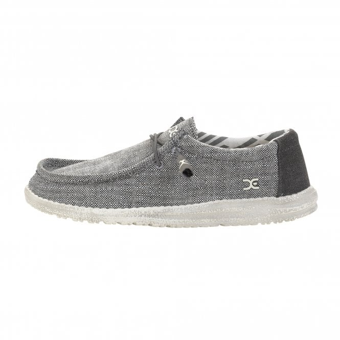 Dude Shoes Wally Woven Grey