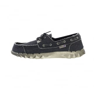mens slip on navy shoes