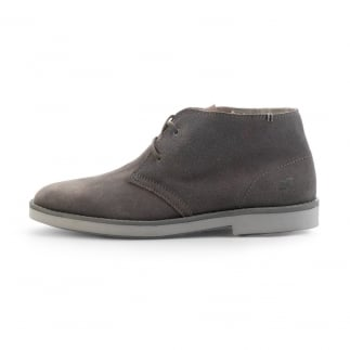 grey suede mens desert boot