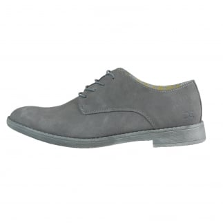 grey suede derby shoes