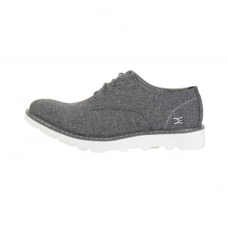 grey mens derby shoes