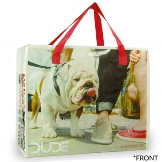 Dude Beach Bag / Shopping Tote
