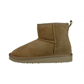 Sella Ladies Boot Tan Suede