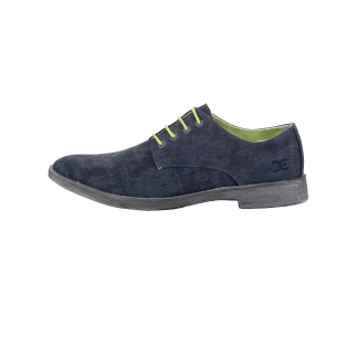 navy mens derby shoe