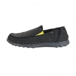 mens comfortable wool slip on shoes